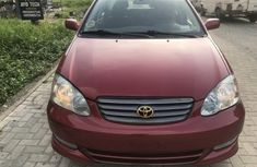Toyota Corolla 2007 Red for sale