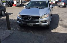 Tokunbo 2012 Mercedes Benz ML 350 Silver for sale