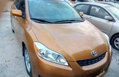 Toyota matrix 2008 orange for sale