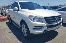 Mercedes Benz ML350 2010 White for sale