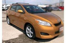 Toyota Matrix 2010 gold for sale