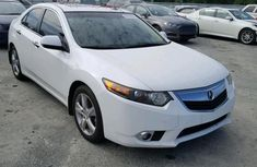 Acura Tsx 2015 White for sale