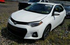Toyota Corolla 2015 White for sale
