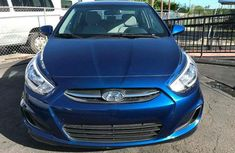 Hyundai Accent Blue 2012 for sale
