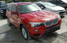 Bmw X3 2010 Red for sale