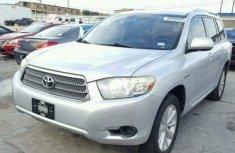Toyota Highlander 2012 Silver for sale