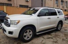 2009 Toyota Sequoia White for sale