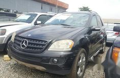 Mercedes-benz ML 500 2006 Black