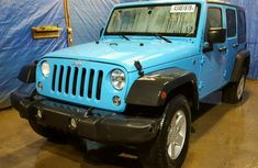 2011 Jeep Wrangler Blue for sale