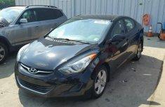2013 Hyundai Elantra Black for sale