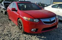 Acura TLX 2011 Red for sale