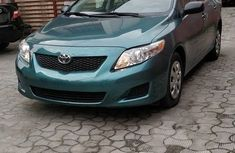 Toyota Corolla 2010 Green for sale