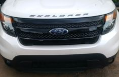 2015 White Ford Explorer for sale