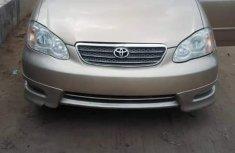 Toyota Corolla Sport 2005 Gold for urgent sale