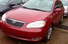 Toyota Corolla Sport 2005 Red for urgent sale