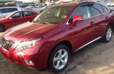 Lexus RX350 2009 Red for sale