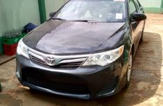 Clean Toks 2012 Toyota Camry Black for sale