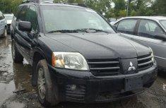 Mitsubishi Endeavor Black 2005 for sale
