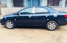 Clean Toyota Corolla 2006 Blue for sale