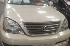 Lexus GX470 2003 White for sale
