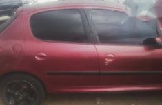 Peugeot 206 2001 Red for sale