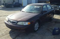 Mazda 626 2002 Red-wine for sale
