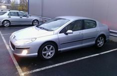 Peugeot 407 2006 silver for sale