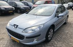 Silver Peugeot 407 2007 for sale