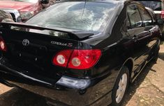 2007 Black Toyota Corolla for sale