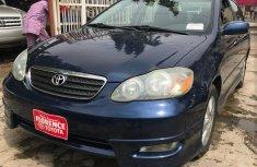 2005 Blue Toyota Corolla for sale