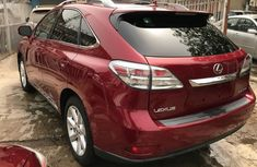 2010 Red Lexus Rx350 for sale