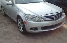 Mercedes Benz C300 2008 Silver for sale