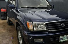 Toyota Land Cruiser 2000 Blue for sale
