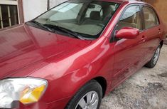 Tokunbo Toyota Corolla 2003 Red for sale