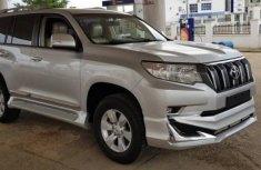 Toyota Land Crusier Prado 2016 Silver for sale