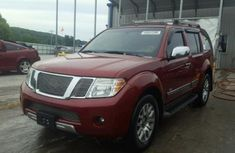 2010 Nissan Pathfinder Red for sale