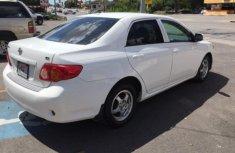 2010 White Toyota Corolla for sale