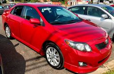 2010 Red Toyota Corolla for sale