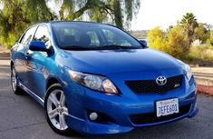 2010 Blue Toyota Corolla for sale
