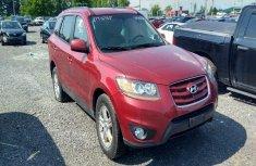 2010 Hyundai Santa Red for sale
