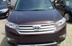 2012 Red-wine Toyota Highlander for sale