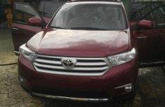 2011 Red-wine Toyota Highlander for sale