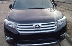 2012 Black Toyota Highlander for sale