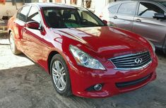 2011 Hyundai G37 Red for sale