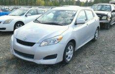 2010 Toyota Matrix Silver For Sale
