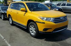 2015 Tokunbo Toyota Highlander  for sale