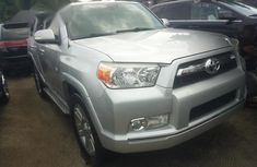 Toyota 4runner 2011 Silver for sale