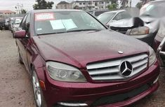 Mercedes-Benz C300 2009 Red for sale