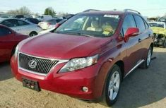 Lexus RX350 2014 Red for sale