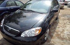 2005 Toyota Corolla Black for sales